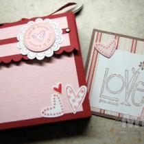 """Love You Much"" Card box"