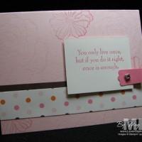 A La Card Ideas (no shoeboxes were harmed)