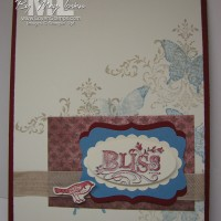 Bliss Stamp Set: Shadow Stamping Technique