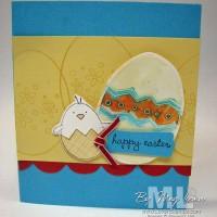 Emboss Your Easter Eggs: A Good Egg Design