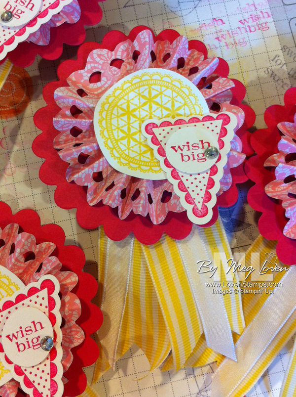pennant-builder punch parade-medallion doilies
