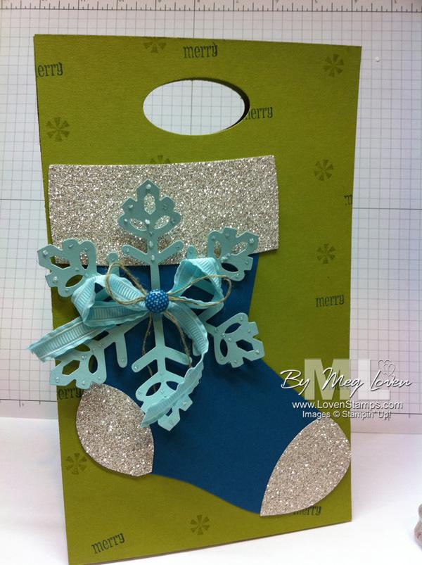 holiday stocking-bag snowflake pennant parade