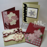 Triple Treat Flower: Ready To Stamp & Use!