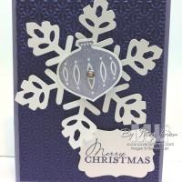 A Purple Christmas Card?  Sure… it's a Contempo Christmas