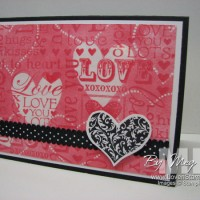 """Stampin' Technique """"How To"""": Embossed Resist"""