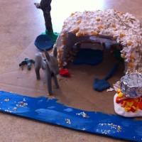 Glass Glitter: handy for 2nd grade dioramas
