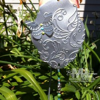 Hardware Garden Art: Big Shot + Flashing