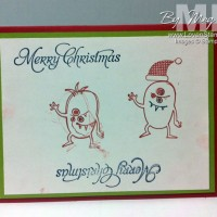 Make A Monster Christmas: A 5 year old's view of Christmas Cards
