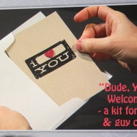 Dude, You're Welcome: A Kit for Guys & Guy Cards