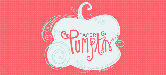My Paper Pumpkin - let me be your fairy godmother of crafting!