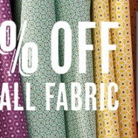 Fabulous Fabric Frenzy – this week only!