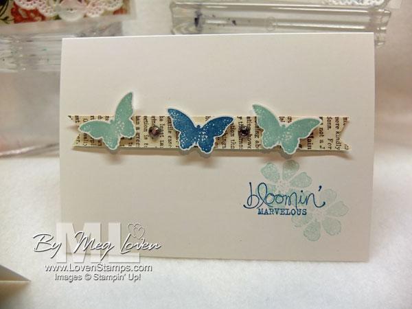 Bloomin Marvelous: Itty Bitty Butterflies, clean & simple card ideas