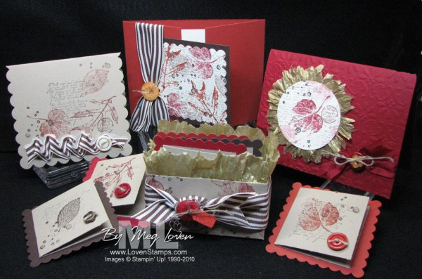 French Foliage - part of the LovenStamps Retiring List Rewind (don't miss it)
