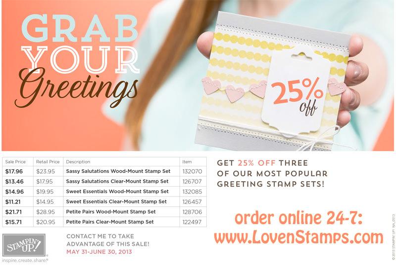 Grab Your Greetings: 25% off sale thru June 30