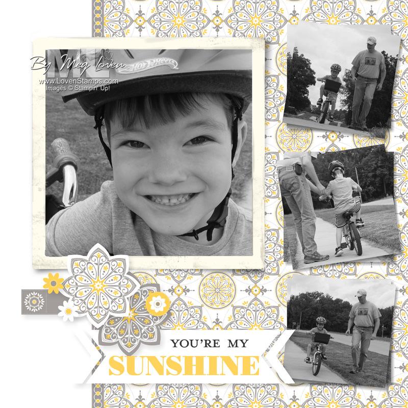 You're My Sunshine Kit: MDS Layout idea