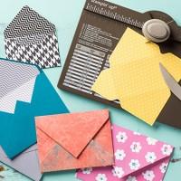 Envelope Punch Board: just like sliced bread