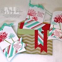 Video Tutorial: Bag 'o Tags Christmas Gift