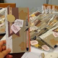 Library Volunteer Appreciation: Notebook & Pen Gift Set