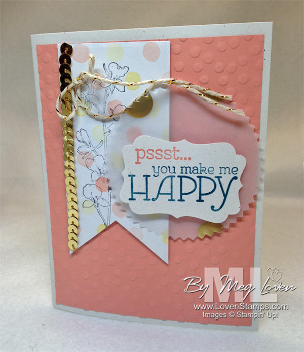 Happy Watercolor stamp set 133191 for happy stampers - LovenStamps