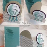 Fun Fold Ideas: Zig Zag Panel Cards