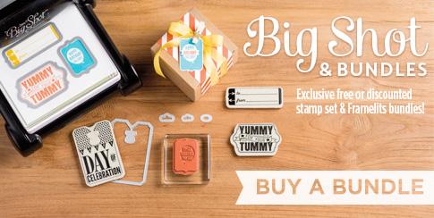 Get your Big Shot off to a Big Start with Framelit/Stamp set Bundles from LovenStamps