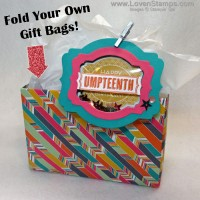 Cute Bag #207: Designer Paper Origami