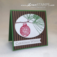 Make Your Christmas Simple: Elegant & Understated Card Idea