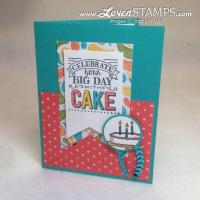 Cake + Cards + Fun = Birthday Time!