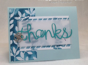 Direct to Paper Technique: Video Tutorial with Butterfly Basics and the Irresistibly Yours Specialty Designer Series paper by LovenStamps #stampinup #stampsinthemailclub
