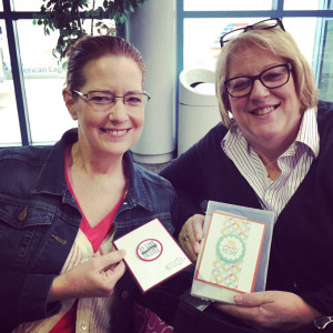 Stampin' Up! Demonstrators - ready for the #stampinup #leadership2015 trip to Orlando