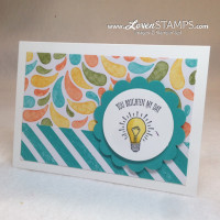 You Brighten My Day: a Stampin' Up! Sale-A-Bration stamp set idea from LovenStamps