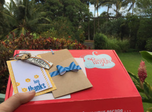Paper Pumpkin: Take it to Hawaii to write your thank you notes! (Thanks #stampinup for the free trip!)