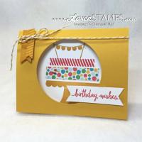 Simple Peek-A-Boo Window Card: Build A Birthday