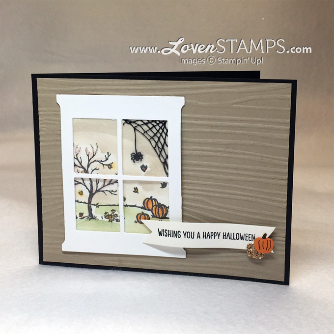 Happy Scenes and the Hearth & Home Thinlits Dies by Stampin' Up! - project by LovenStamps