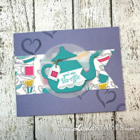 Learn to Stamp in 3 Simple Steps: A Nice Cuppa