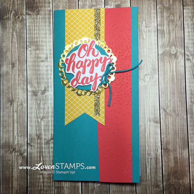 LovenStamps: New Stampin' Up! Catalog SNEAK PEEK - Scenic Saying stamp set notebook gift idea