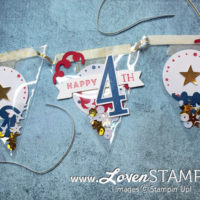 Celebrate the 4th of July: Confetti Banner Style