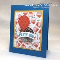 Birthday Balloons with the Balloon Adventure Stamp Set