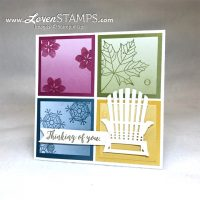 Color Theory and Colorful Seasons: Sampler Cards with Seasonal Layers