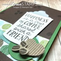 Make Your Own Custom Embossing Paste Masks: Coffee Cup Framelits