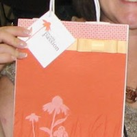 Tangerine Tango Gift Bag