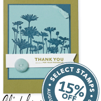 15% off Never-Before-Seen stamp sets!