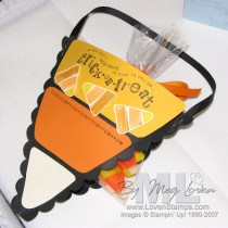 Candy Corn Basket