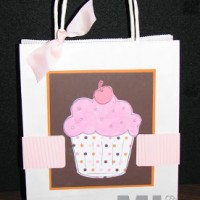Simple Birthday Thanks Gift Bag