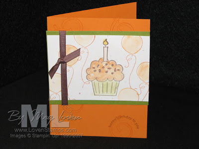 autumn harvest stamp card