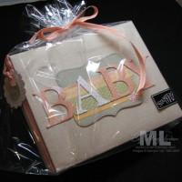 Baby Girl Scrapbook Gift