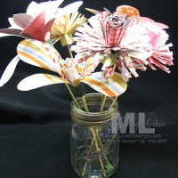 Designer Series Paper Flowers by Becky