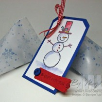 Sweet Snowman Candy Containers