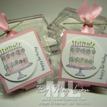 Wedding Favors, Party Favors: Stamping 101 Tutorial