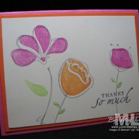 Simplify Your Card Ideas: Awash with Flowers